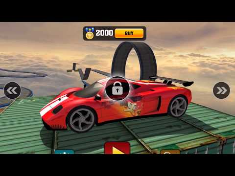 IMPOSSIBLE CAR 3D STUNT TRACKS 2017 - Android / iOS Gameplay - Car Racing Games