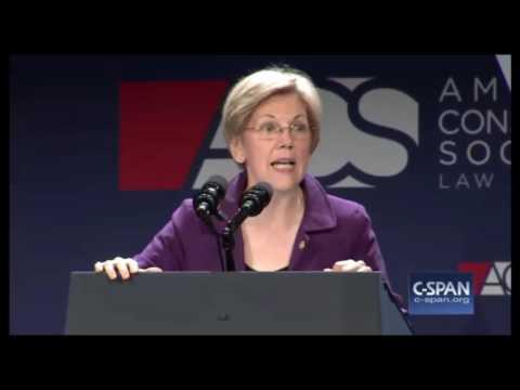 "Elizabeth Warren ACS Convention FULL Speech SLAMS ""THIN SKINNED RACIST BULLY"" Donald Trump"