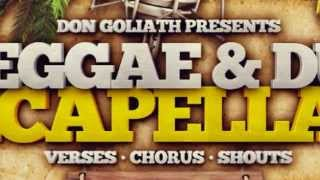 Reggae Vocal Samples - Don Goliath Reggae Dub Acapellas Vol 2