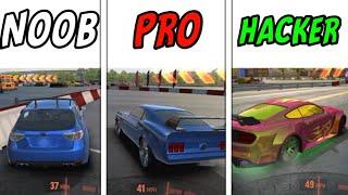 Drift Max Pro - NOOB VS PRO VS HACKER screenshot 2