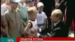 Путин поцеловал мальчика | Putin kissed a boy