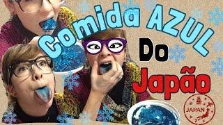Comidas estranhas do Japão (CURRY AZUL)