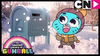 Gumball | Merry Christmas From The Watterson's and Santa!
