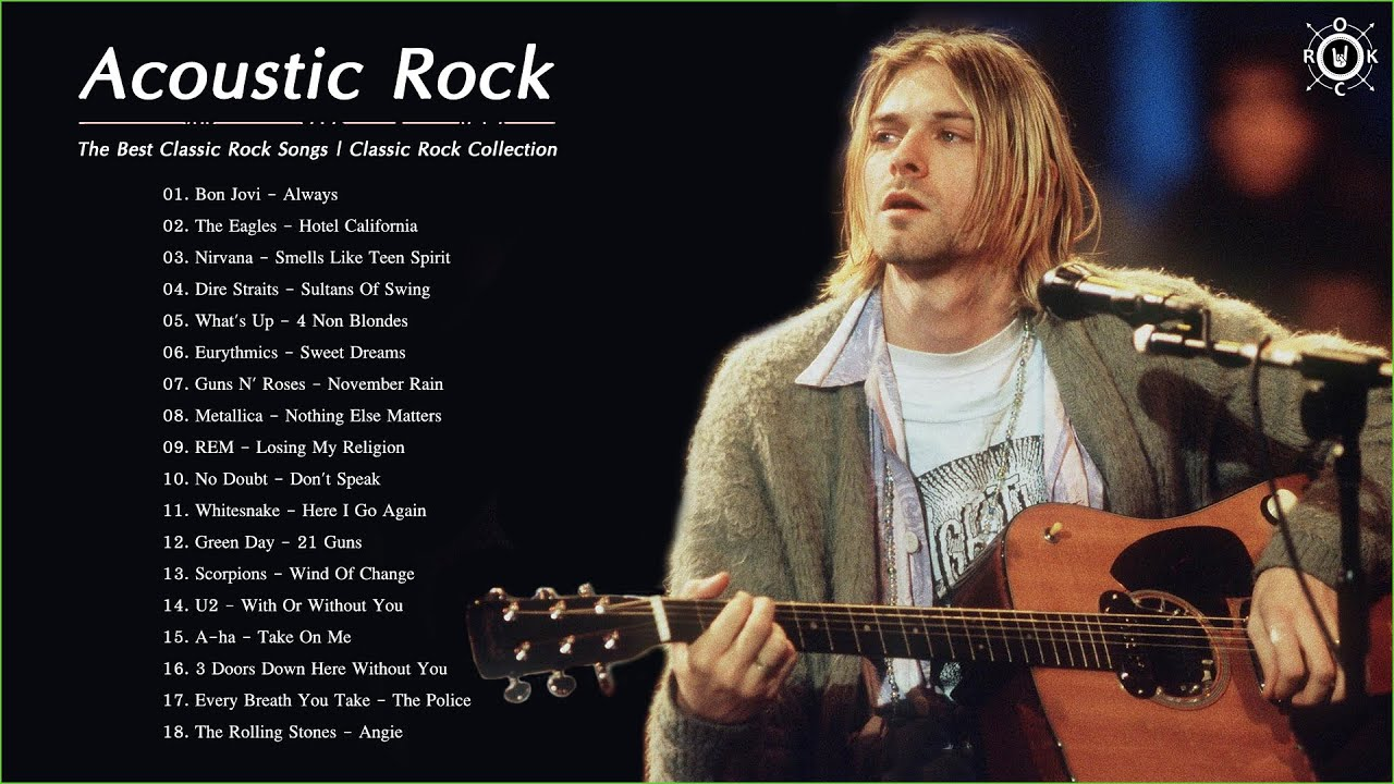 Acoustic Classic Rock 80s 90s | The Best Classic Rock Songs | Classic Rock Collection