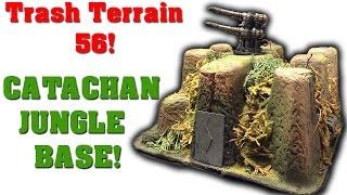 Make Terrain From Trash! EP 56 - Catachan Jungle Base!
