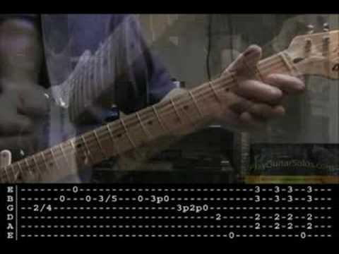 SRV Scuttle Buttin' guitar lesson