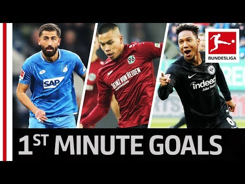 3 Goals in 1st Minute – Historic Bundesliga Record