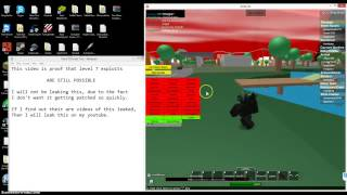 ROBLOX LEVEL 7 UNPATCHED (VENTAII DRIVEBY INJECTOR!)