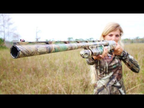 Florida Girl Hunting & Shooting Guns