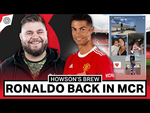 Cristiano Ronaldo Arrives In Manchester Ahead Of Debut! | Howson's Brew