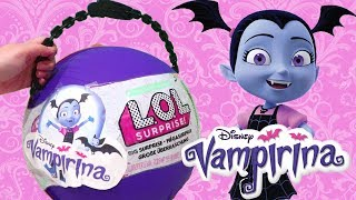 LOL Big Surprise CUSTOM Ball Vampirina DIY ! Toys and Dolls Fun for Kids Opening Surprises | SWTAD