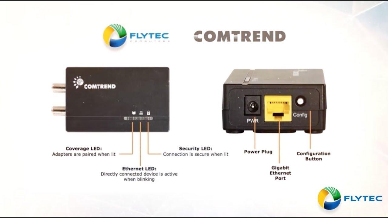 comtrend s gca 6000 g hn ethernet over coax adapter [ 1280 x 720 Pixel ]