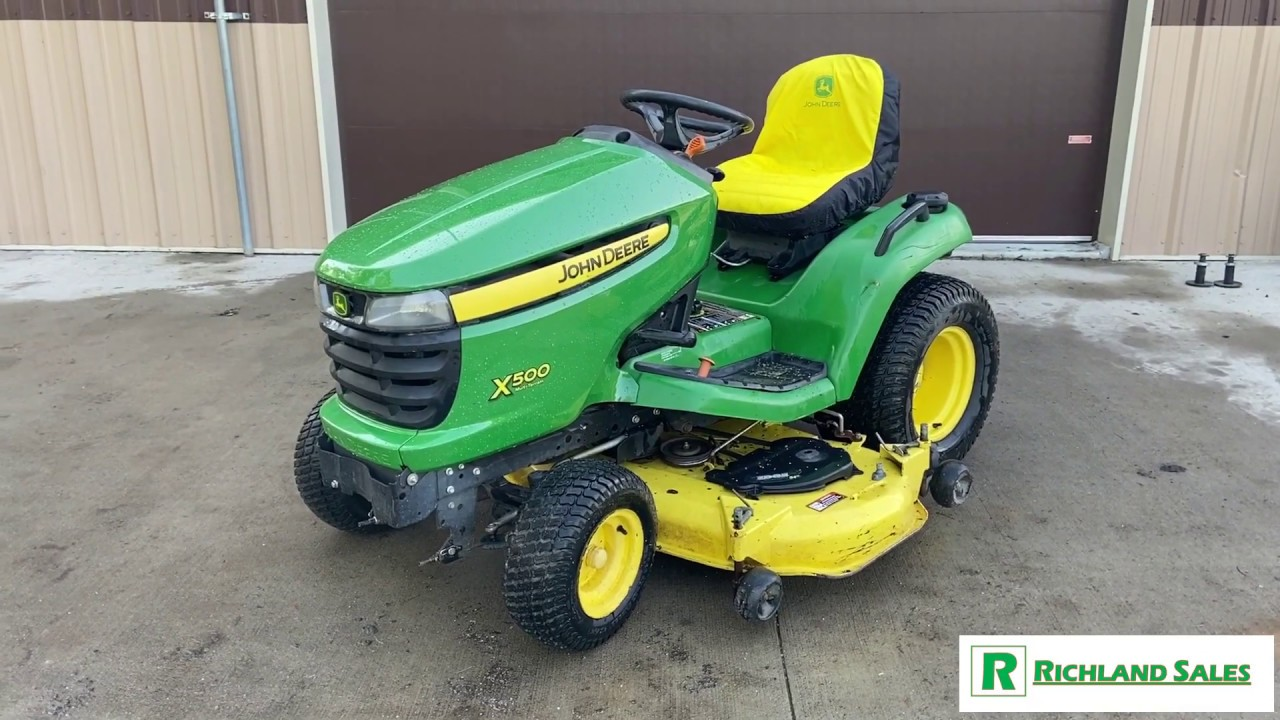 "For Sale: John Deere X500 (54"") Garden Tractor"