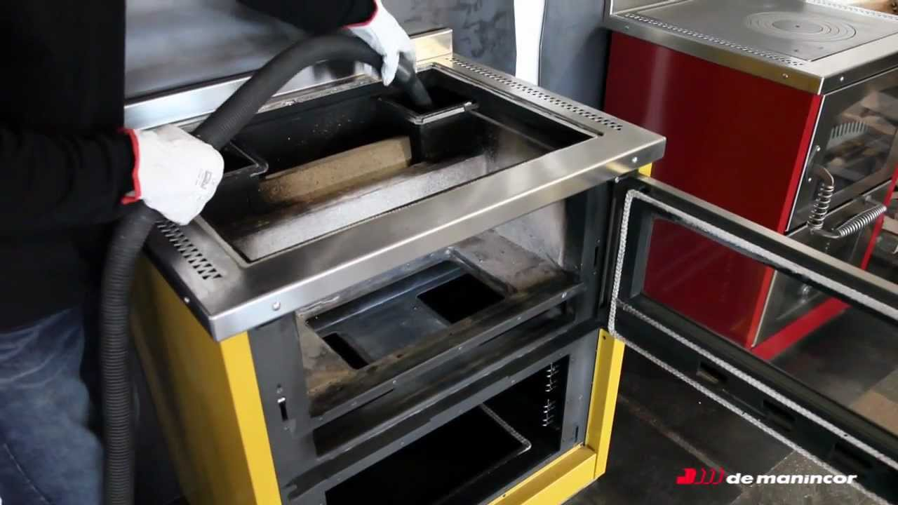 Cucine a legna domino pulizia interna youtube for Cucine per cucinare