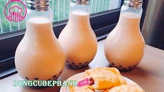 Trà Sữa Bóng Đèn - thức uống đang gây sốt với giới trẻ