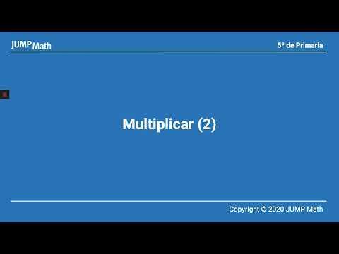 5º. Unidad 3. Multiplicar. Parte II