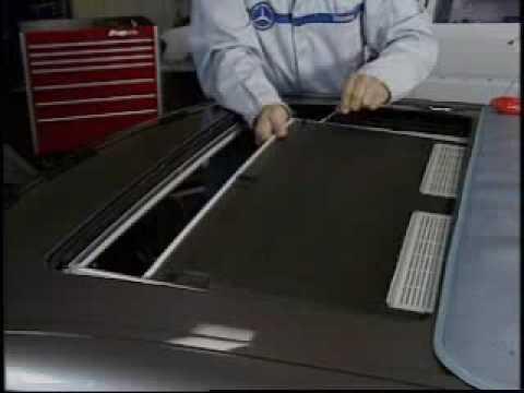 Sliding Roof Interior Panel
