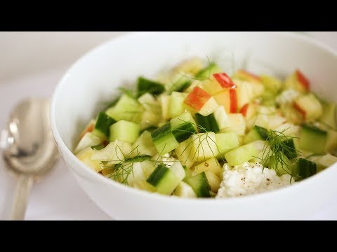 Chopped Salad with Cottage Cheese- Healthy Appetite with Shira Bocar