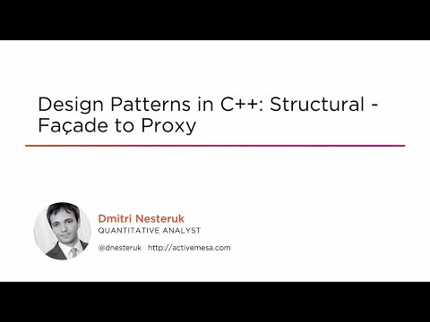 Course Preview: Design Patterns in C++: Structural - Façade to Proxy