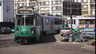 Boston MBTA Green Line April 1999