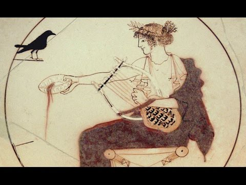 Ancient Greek Musical Scales on a Replica Ancient Greek Tortoise Shell Lyre