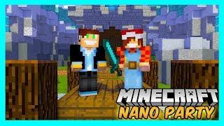 Minecraft Nano Party #07 - Bob Gladiator! /w BoBiX | Vertez