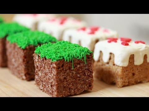 Download MINECRAFT RICE KRISPY TREATS - NERDY NUMMIES Screenshots