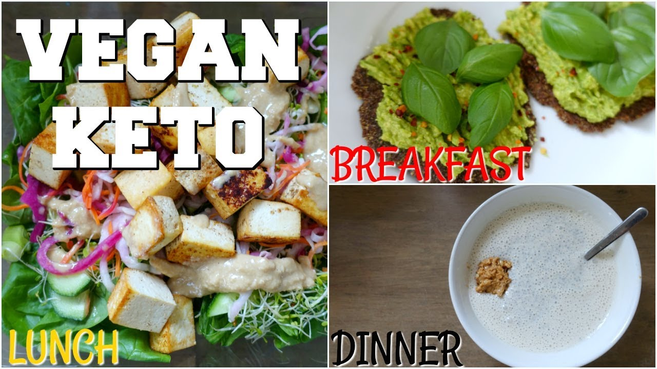 Vegan Keto High Fat Low Carb Fat Loss Breakfast Lunch Dinner