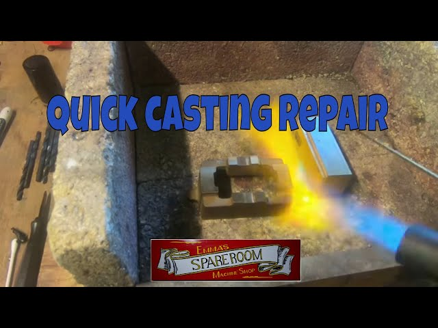 a look at some castings an a machining repair on one.