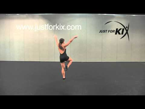 Lyrical Combo - Great Dance Tutorial and Demonstration from Just For Kix