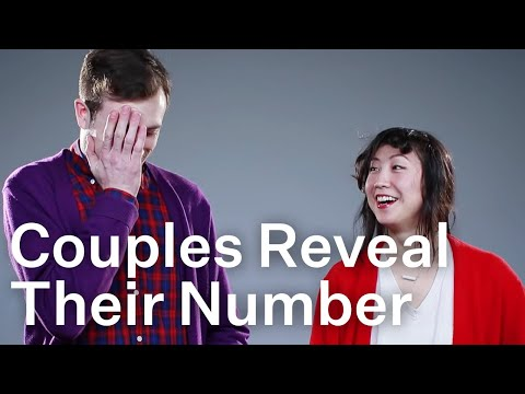 Couples Reveal How Many People Theyve Had Sex With To Each Other