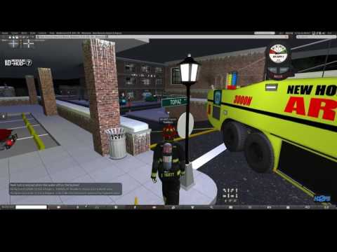 SecondLife firefighter roleplay