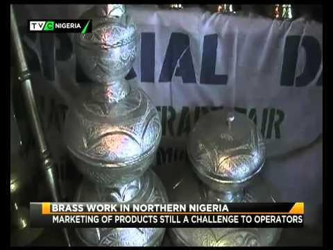 BRASS WORK IN NORTHERN NIGERIA