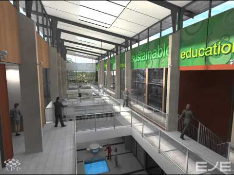 Newcastle Institute for Energy and Resources - Concept Design FLYTHROUGH.