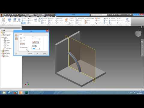 11 How To Use The Rib Tool In Autodesk Inventor - YT