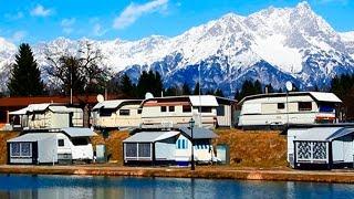 Reisebericht Camping Bad Neunbrunnen am Waldsee (Salzburg) März 2015