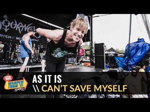 As It Is - Can't Save Myself (Live 2015 Vans Warped Tour)