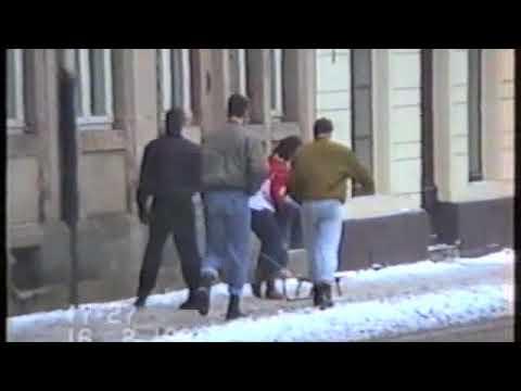 Dresden-Neustadt 1991 - Die Bronx des Ostens #001