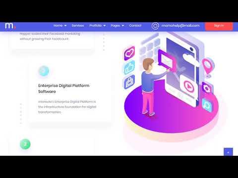 Momo  – Multipurpose Agency HTML Template