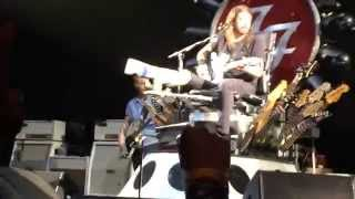 Dave Grohl saw my sign and called me up on stage to play a song. . ...