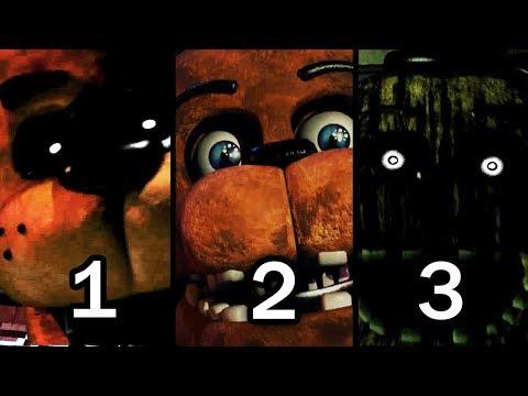 FNAF Freddy Simulator 1, 2, 3