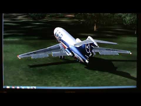 727-100 LAB Lloyd Aereo Short Take Off Despegue Corto