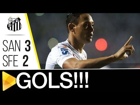 Santos 3 x 2 Santa Fé | GOLS | CONMEBOL Libertadores Bridgestone (05/05/17)