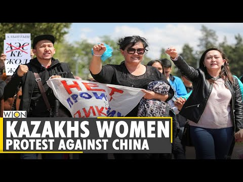 WION Dispatch: Kazakhstan women group is protesting against Xinjiang genocide| China | Uighurs |WION