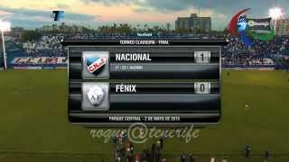 Gol de Iván Alonso Nacional de Montevideo 1 Vrs Fenix 0 02/05/2015 Campeonato Clausura 2015