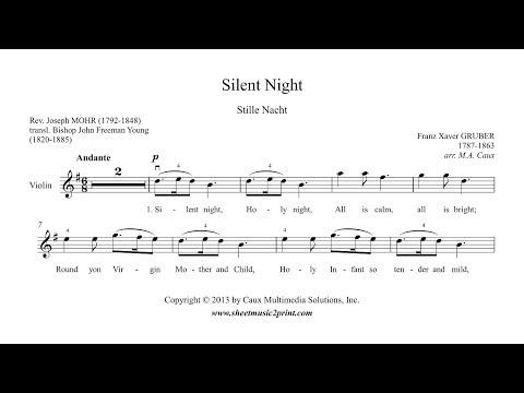 Silent Night - Violin Sheet Music
