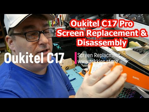 Oukitel C17 Pro Screen Replacement & Disassembly