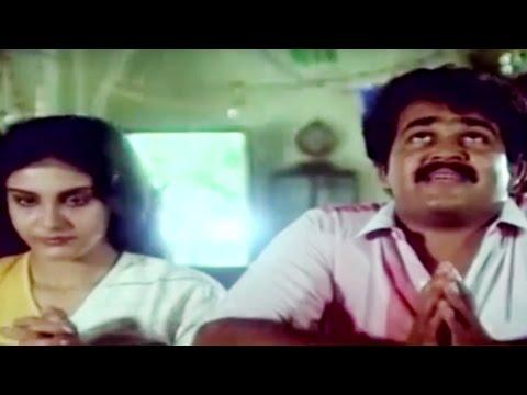 THALAVATTAM (താളവട്ടം) | Malayalam Movie | PART - 3 | Mohanlal & Lizzy Romantic Scene