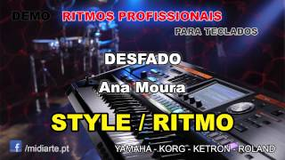 ♫ Ritmo / Style  - DESFADO  - Ana Moura