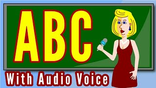 ABC Alphabets with voice for kids - Best ABC